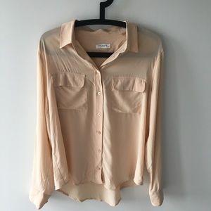 Equipment Femme peachy silk blouse